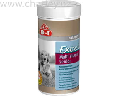8 in 1 Excel Multi Vit Senior 70 tb Витамины